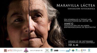 Exposición fotográfica AMEG, Maravilla Láctea en Guatavita